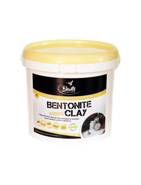 Buy Organic Bentonite Clay Food Grade 4kg Australia