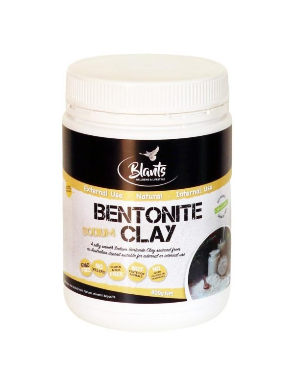 Buy Organic Bentonite Clay Food Grade 800g Australia