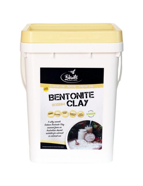 Buy bulk Organic Bentonite Clay 9kg Australia
