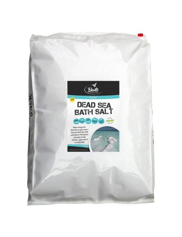 Buy bulk Genuine Dead Sea Salt 18kg, Australian supplier.