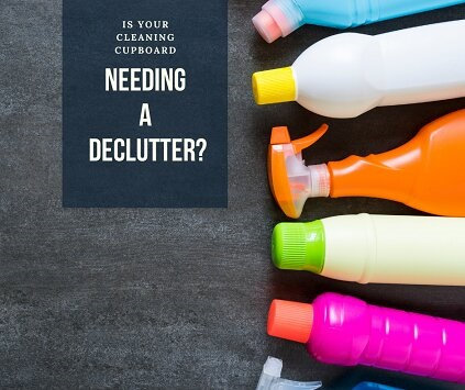 Declutter your cleaning cupboard, safe and natural
