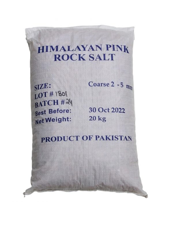 Himalayan Pink Salt - Coarse 20kg Australia