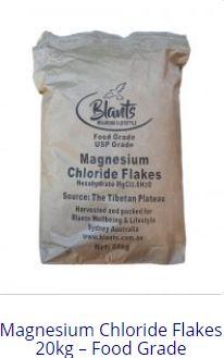 Natural Magnesium Chloride Flakes Food Grade online, Tibetan Plateau
