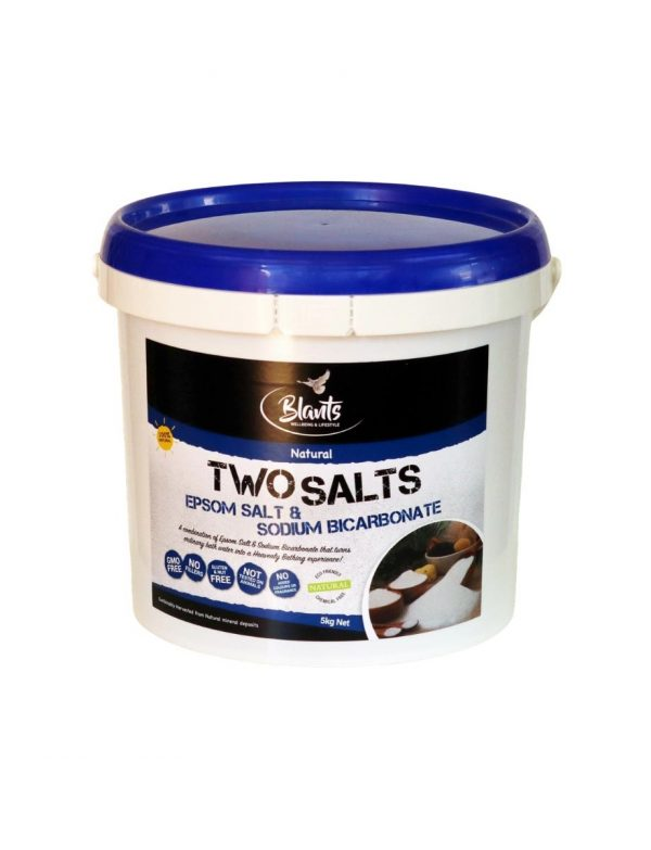 Two Salts - Epsom Salt and Sodium Bicarb combined - 5kg