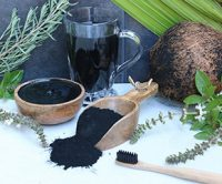 Buy Activated Charcoal Powder food grade, made from organic coconut shells.